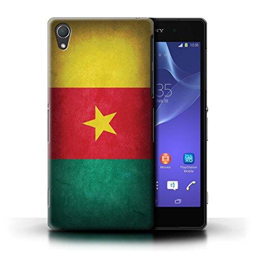 Kobalt® Imprimé Etui / Coque pour Sony Xperia Z2 / Portugal/portugais conception / Série Drapeau Cameroun
