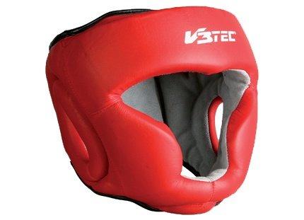 V3TEC Kopfschutz rot-weiß (Größe: L)
