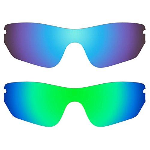 Revant Ersatzlinsen für Oakley Radar Edge Polarisiert 2 Paar Kombipack K006
