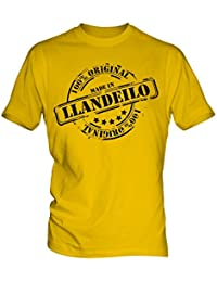 Made In Llandeilo - Mens T-Shirt T Shirt Tee Top