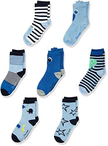 Sterntaler Baby-Jungen Socken 8321851-Söckchen 7er-Box, Blau (Marine 300), 26 (Herstellerg Preisvergleich
