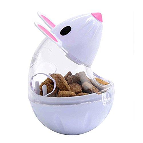 STARE89 Futterball für Haustiere, lustige Maus, Trinkflasche für Katzenfutter, Auslaufgerät, Lernspielzeug, interaktives Spielzeug