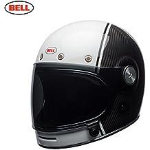 Bell Bullitt Carbon Pierce Casco, Negro/Blanco, Talla L