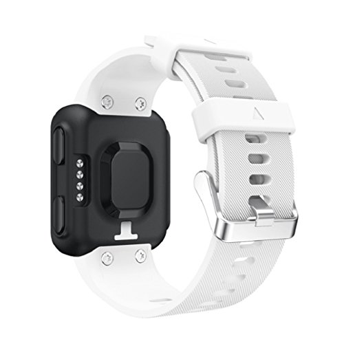 Pour Garmin Forerunner 35 Bracelet ,Clode® 230MM Bracelet de rechange bande de montre silicagel Soft Band Strap pour Garmin Forerunner 35 Watch (h)