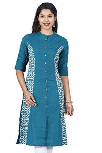 Alena Women cotton printed short sleeve Kurtis