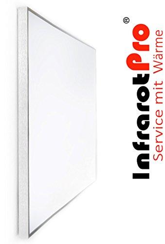 Infrarot-Heizung 750 Watt mit Digitalthermostat von InfrarotPro ® Infrarotheizungen 7 JAHRE GARANTIE Made in Germany Elektroheizung Elektroheizkörper Infrarotheizkörper