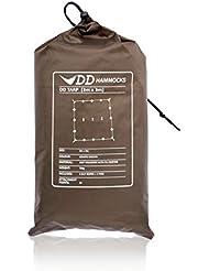 DD Hammocks - Toldo (3 x 3 m), color marrón Coyote Brown