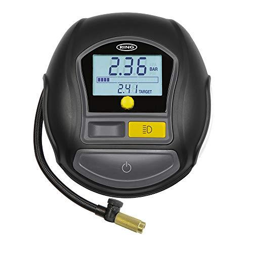 Ring RTC1000 compresor de Aire, Digital rápido con Juego rápido, Auto/Stop y LED