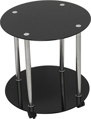 avf-t62-living-room-wheeled-2-shelf-occasional-table-in-black-glass-with-chrome-legs