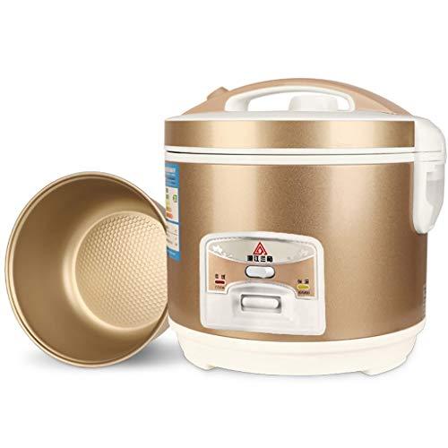 Cheieo Reiskocher 3.0L Mini Reiskocher, tragbarer Reisedampfer Kleiner, Abnehmbarer Antihafttopf, warm halten, für 2-4 Personen geeignet - Zum Kochen von Suppen, Reis, Eintöpfen und Haferflocken (Kleine Japanische Reiskocher)