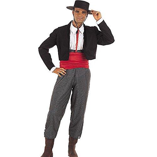 Imagen de limit sport  disfraz de cordobés para adultos, talla xl ma316