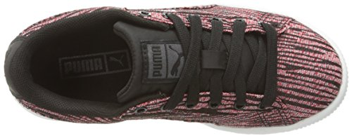 Puma Basket Classic Tiger Synthétique Baskets Red Blast-Puma Black