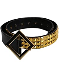 Suicide Squad Harley Quinn Belt para mujer niñas niños Cosplay Accesorio Outfit Pyramid Studded Belt