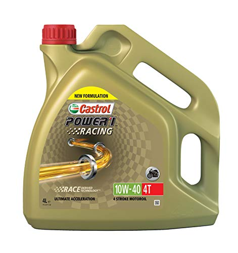 Castrol 22415170 Power 1 Racing 4T 10W-40 - Olio 4