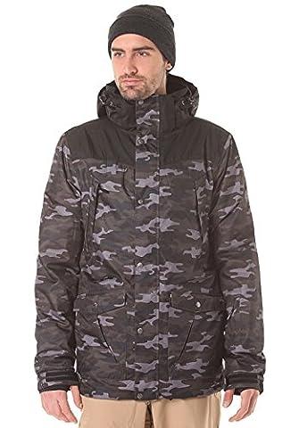 LIGHT Herren Outerwear - Jacke Ridge, Camo/Black, M, FA-500-15