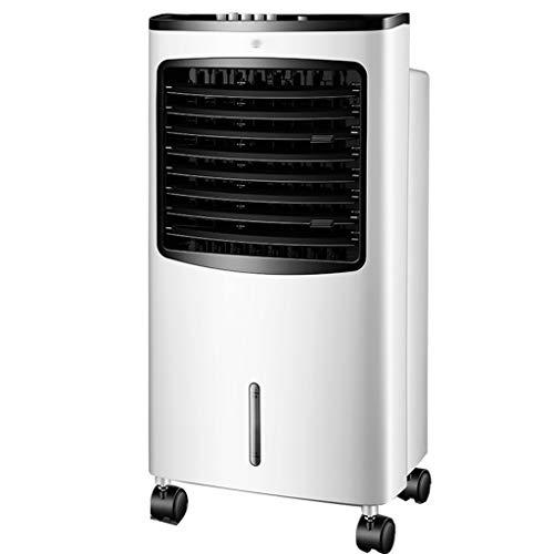 ZZQ Refroidisseur d'air Domestique télécommande Ventilateur de climatisation Unique Eau Froide Refroidissement Refroidisseur Mobile 8L Grand réservoir d'eau pour Les familles de dortoirs