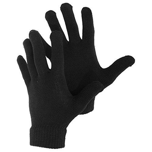 Herren Winter Magic Gloves Handschuhe (Einheitsgröße) (Schwarz) (Herren-magic-handschuhe)