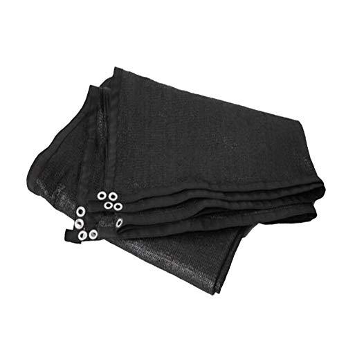 YAOBAO 90% Sunblock Shade Cloth, gegurtete Kante mit Ösen Sun-Block Mesh Shade, UV-beständiges Netz für Garten-Abdeckungs-Blumen-Pflanzen-Patio-Rasen,4Mx10M