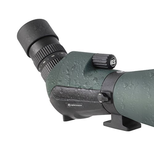 Affordable Bresser Spotting Scope Condor 20-60×85 with straight view on Amazon