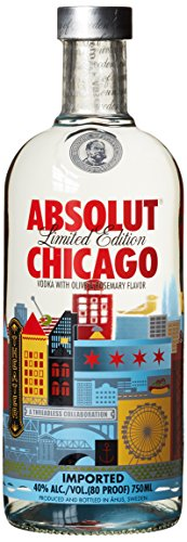 Absolut Vodka Chicago Limited Edition (1 x 0.7 l) -