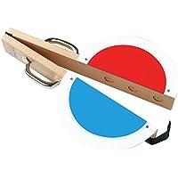 Sport-Thieme Startklappe aus Holz für Leichtathletik   Große Sichtfläche, Perfekte Schallwirkung, Praktische Haltegriffe   Nur 1 kg leicht   Aus Holz   46x26x6 cm   Markenqualität