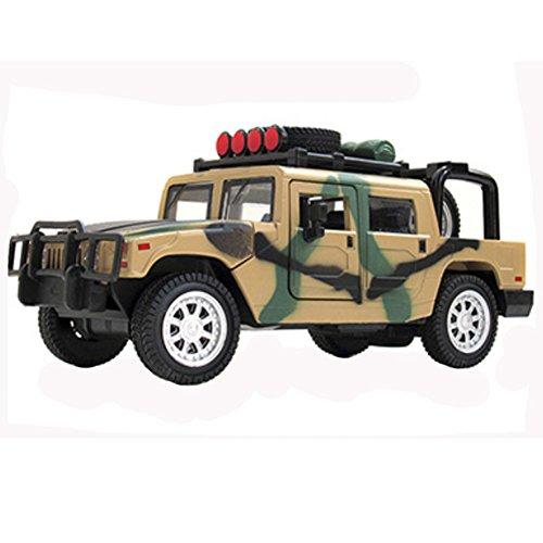Kids Cool Mini alliage modèles de voitures hors route, camouflage de couleu