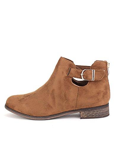 Cendriyon Bottine Marron CM'S Chaussures Femme