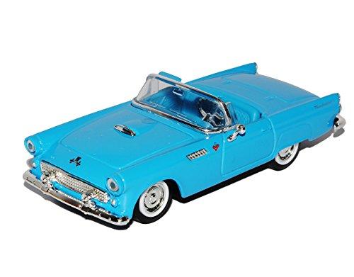 Ford Thunderbird Cabrio Blau 1. Generation 1955-1957 1/43 Yatming Modell Auto