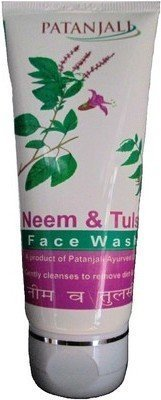 Patanjali Neem Tulsi face wash (60 g)