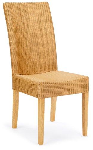 Hansen 6251E Lloyd-Loom-Stuhl 45 x 65 x 102 cm Natur