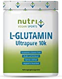 L-GLUTAMIN PULVER 500g Ultrapure - 99,95% rein - geschmacksneutral ohne Zusatzstoffe - hergestellt in Deutschland - Fitness & Bodybuilding - Vegan Glutamine Powder Made in Germany