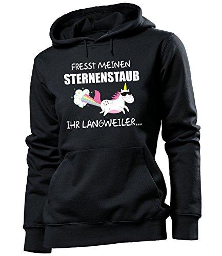 FRESST MEINEN STERNENSTAUB IHR LANGWEILER 5942 Frauen Hoodie (HKP-SW) Gr. (Bilder Kondom Kostüm)