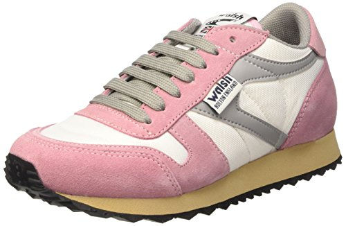 Walsh Damen V10 Gymnastik Multicolore (Bright White/Rose Shadow)