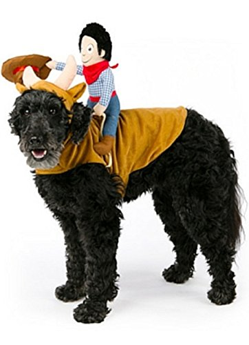 Top Paw Cowboy Rider Hund Kostüm ~ -