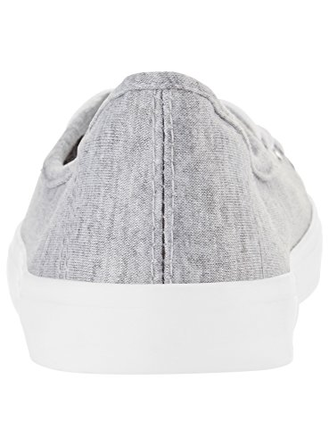 oodji Ultra Damen Basic Baumwoll-Freizeitschuhe Grau (2000M)