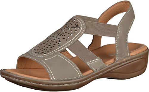 ara Hawaii, Damen Knöchelriemchen Sandalen Beige