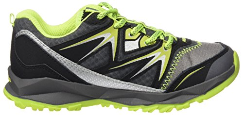 Merrell ml Capra Bolt Lace Waterproof, Scarpe da Arrampicata Bambino Multicolore (Grey/Citron)