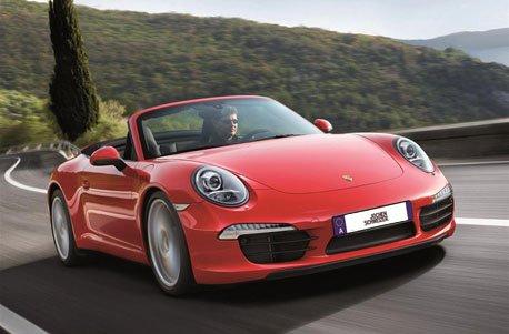 Geschenkgutschein: Porsche 911 Carrera Cabrio fahren (1 Tag)