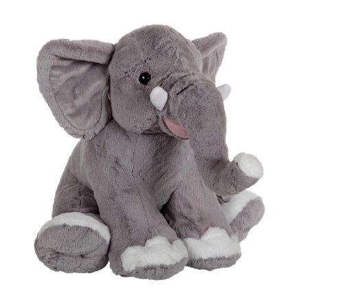 sdtdia Beb/é Suave Felpa Gris Elefante Animales de Peluche Durmiendo Almohadas Ni/ños Lumbar Almohada Juguetes