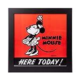 Quadro decorativo Minnie Mouse 30x30 cm