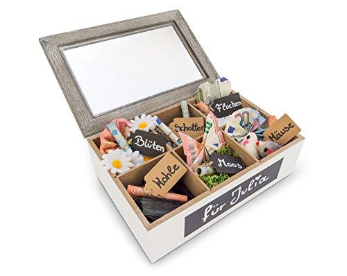 SURPRISA Schotter-Schatulle - Die kreative Verpackung für Geldgeschenke - Tolle Geschenkbox zum Geburtstag oder zur Hochzeit