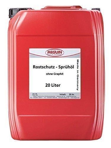 Meguin Rostschutz-Sprühöl ohne Graphit 2,99 €/L