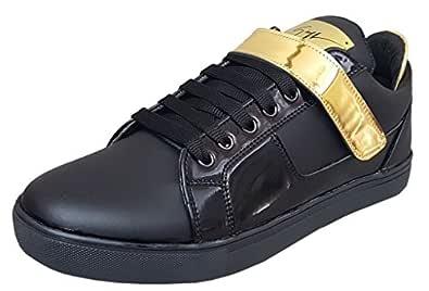 Black Tiger Men's Black Sneakers-9 UK/India (43 EU) (8002)