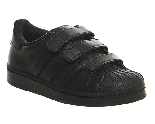 Adidas Superstar Foundation Infants Baskets Mode Noir Noir
