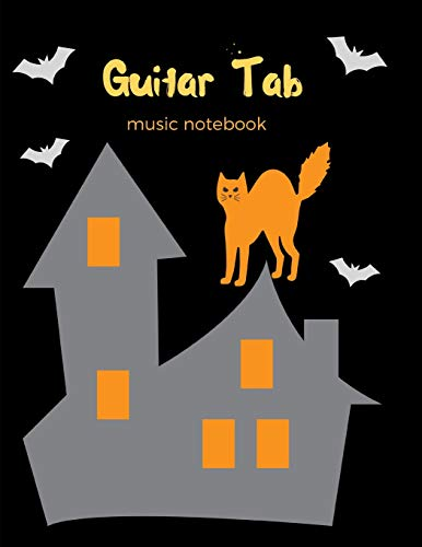 Guitar Tab Music Notebook: For Composing Guitar Music