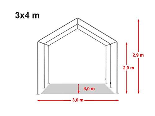 Stabiles Lagerzelt 3×4 m - 6