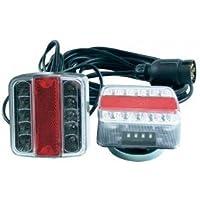 Kit de iluminación LED con fijación magnética para remolque