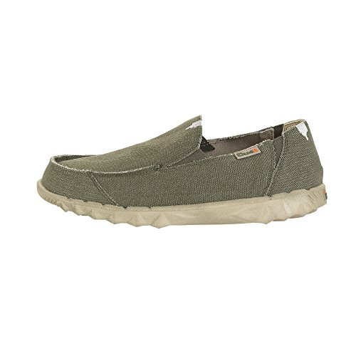 Dude Shoes ,  Herren Sneaker Low-Tops Grün