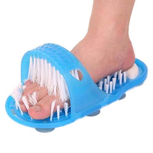 Golden.Y Bad Fußbürste Reinigung & Massage Für Füße Fußpflege Fuß Pflege Bürste Waschbürste Fußmassage Unter Der Dusche Hornhautentferner Feile Slipper