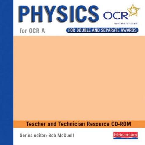 GCSE Science for OCR A Physics Teacher CD-ROM